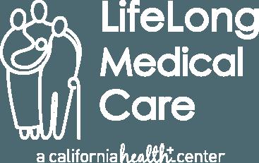 LifeLong Medical logo in white