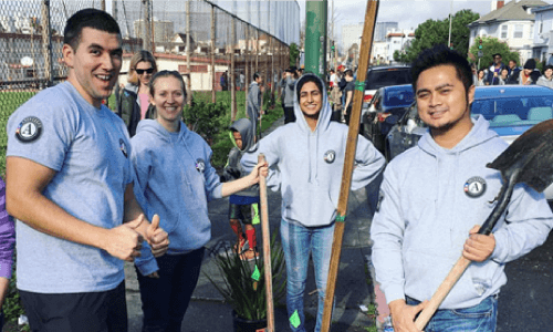 AmeriCorps Cleaning Up