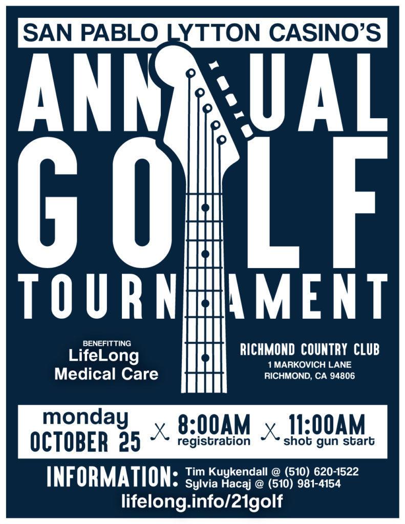 2021 Golf Tournament Poster